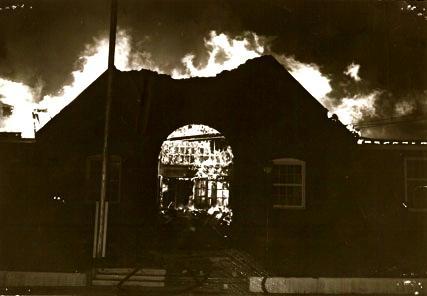 The Allen School Fire - Bend Oregon - December 17th, 1963