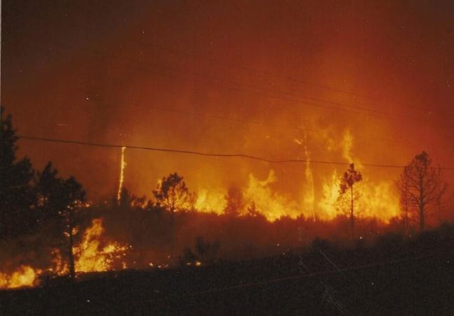 Awbrey Hall Fire